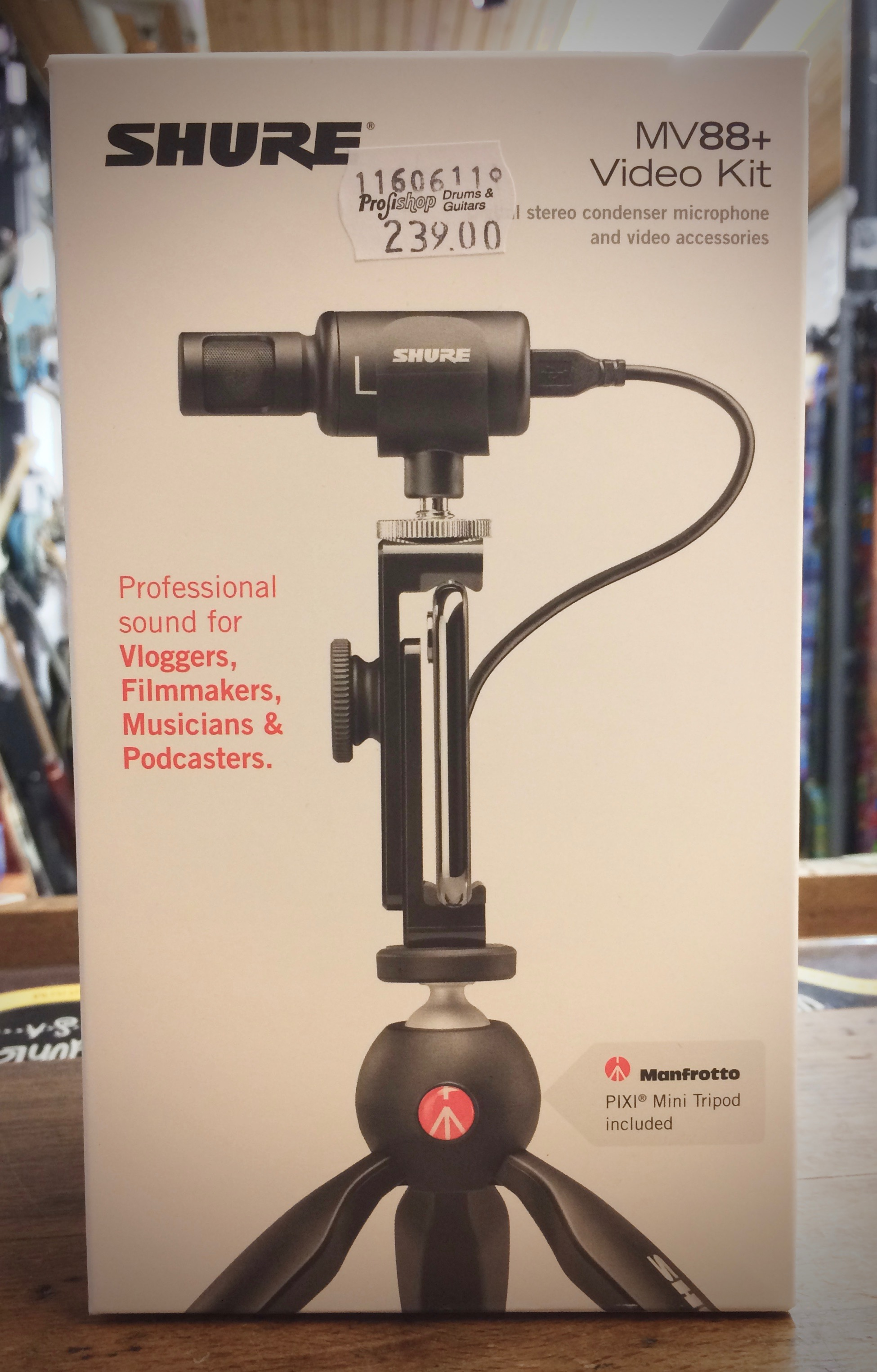 ***Mobiles Videostudio mit dem SHURE MV88+ Video Kit***